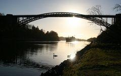 Die schönste Brücke über den Nord-Ostsee-Kanal