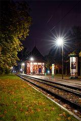 Die schönste Straßenbahnhaltestelle in Magdeburg