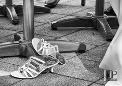 die Schuhe der Braut