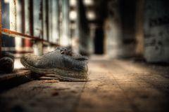 Die Schuhe haben schon mal Ausgang ...