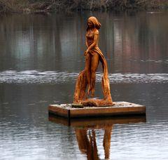 """die """"Schwebende Seejungfrau"""""""