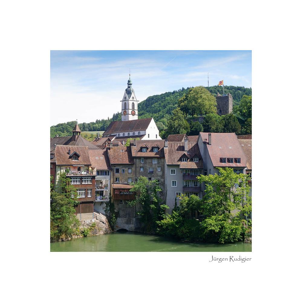 Die Schweizer Seite der zweigeteilten Stadt Laufenburg
