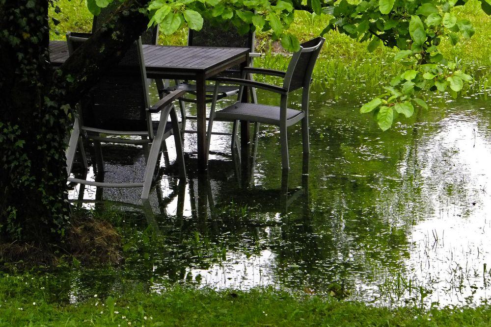 Die schwimmenden Gärten von Unterkochen