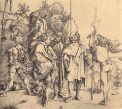 Die sechs Krieger - gegen Corona. Albrecht Dürer