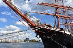 """Die """"Sedov"""" zur Hanse Sail 2018 in Warnemünde"""