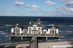 Die Seebrücke im Ostseebad Sellin