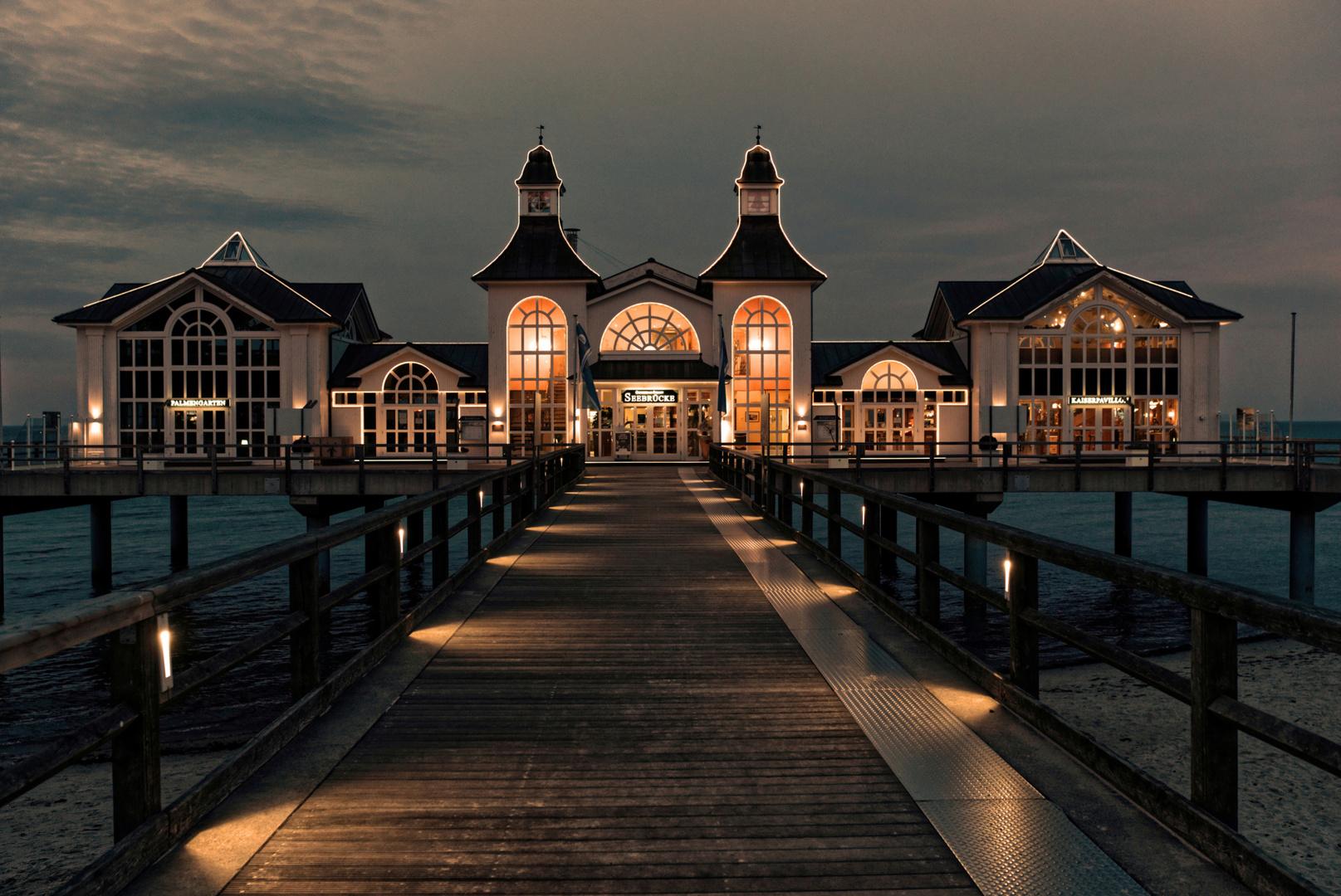 die Seebrücke von Sellin