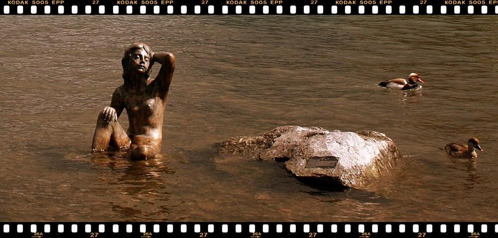 Die Seejungfrau vom Tegernsee