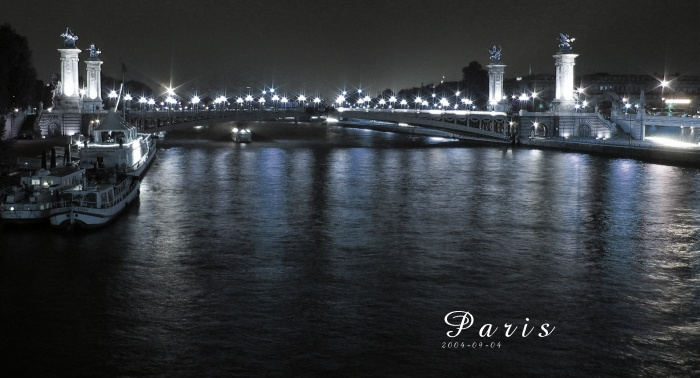 Die Seine und ihre Brücken