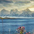 Die sieben Schwestern, von der Insel Donna im Abendlicht (Norwegen) Fotografiert: Teil 2