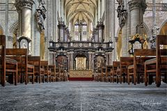 Die Sint-Jacobskerk Antwerpen ....