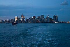 Die Skyline von Manhattan