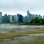 Die Skyline von Vancouver