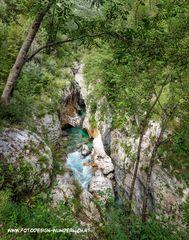 Die Soca, Slowenien