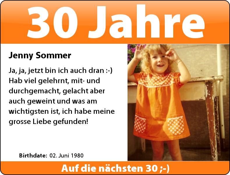 Die Sommer wird heute....