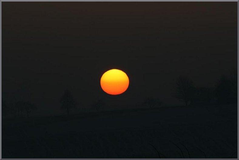Die Sonne ...