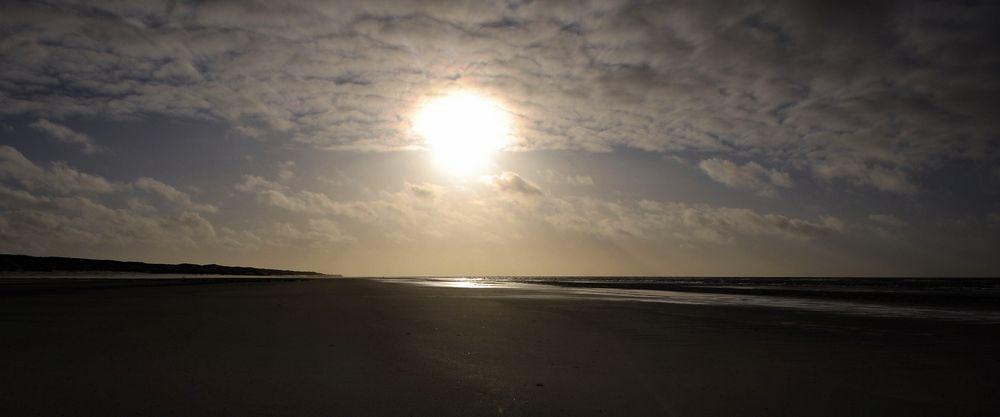 Die Sonne dort...