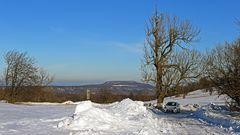 Die Sonne für eine Fahrt in den Winter auf 700m Höhe gestern genutzt ...