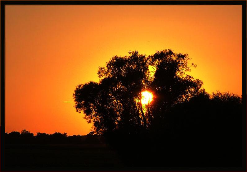 Die Sonne geht........