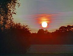 Die Sonne geht bald unter...