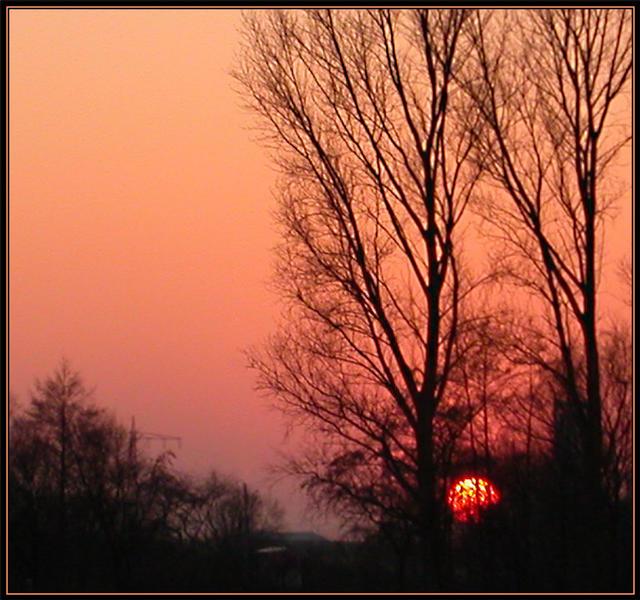 ...die Sonne geht schlafen...