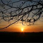 Die Sonne geht zur Ruh..