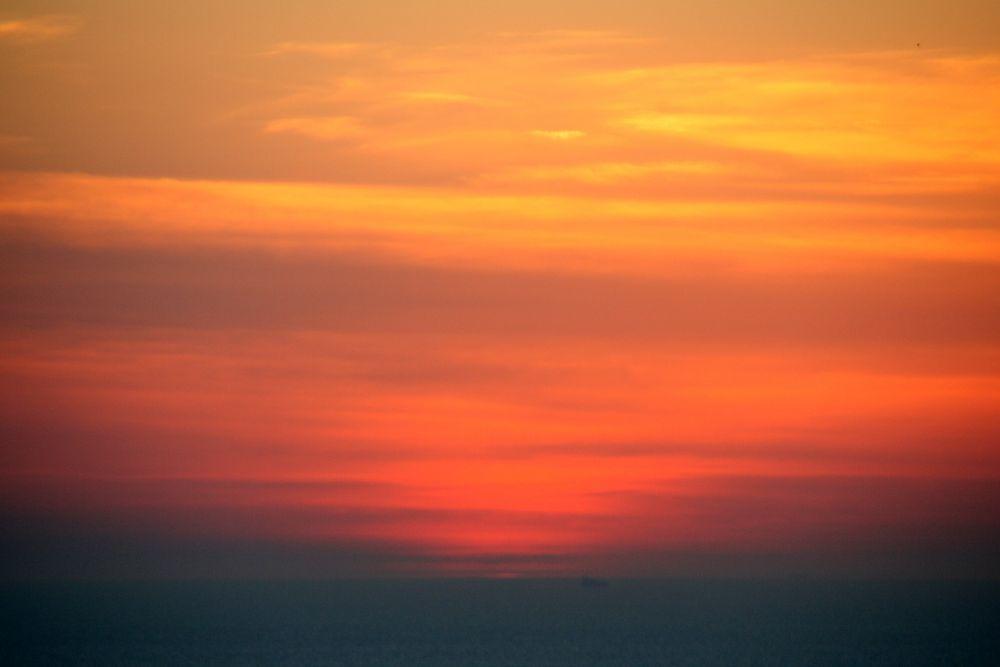 Die Sonne ist untergegangen