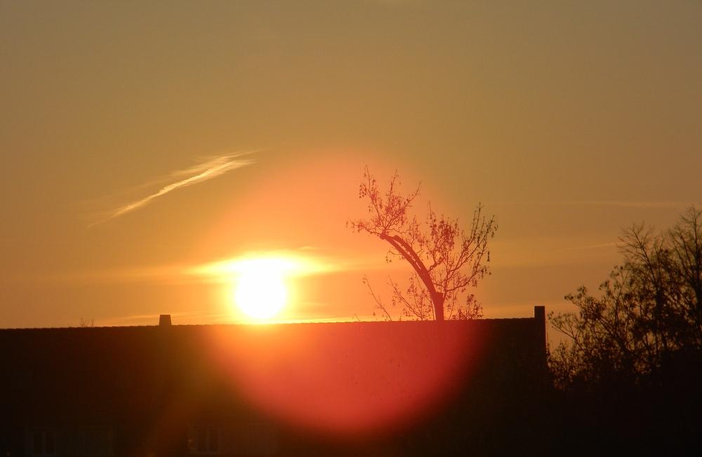 ... die Sonne nimmt ihren Lauf
