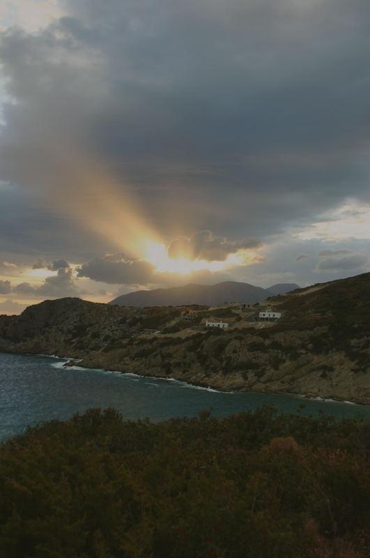 Die Sonne über Kreta