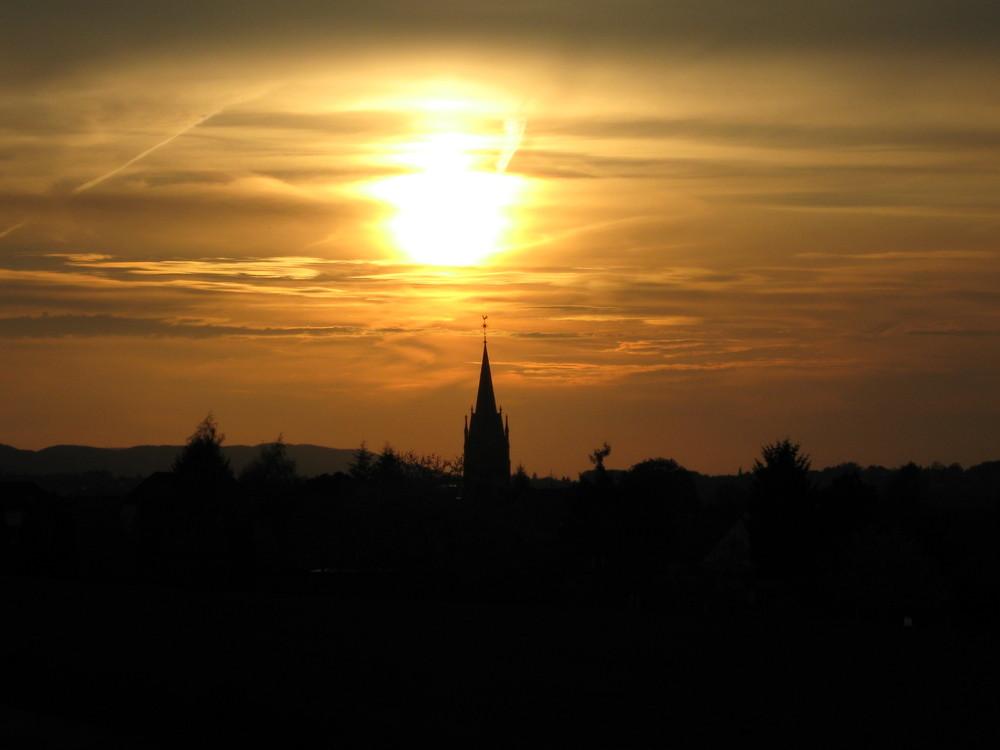 Die Sonne über Lerbeck