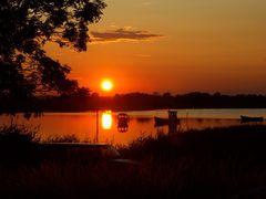 Die Sonne will nun schlafen gehn...die Nacht am See wird wunderschön