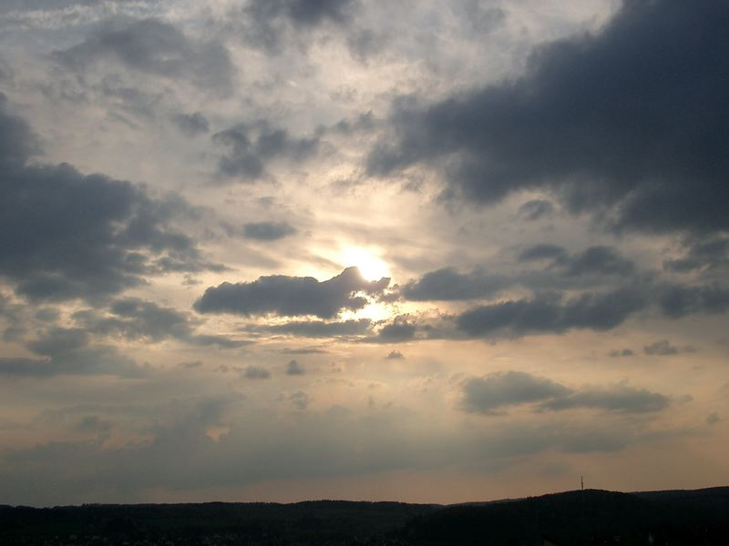Die Sonne zieht sich zurück