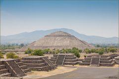 Die Sonnen Pyramide in Mexico