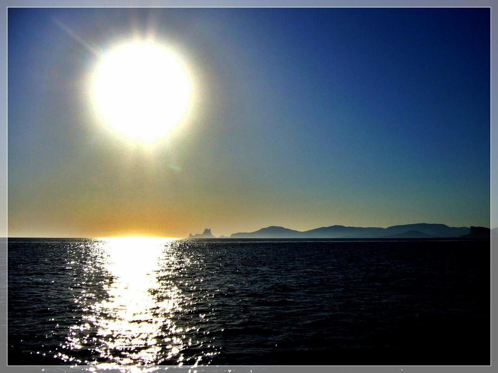 Die Sonnenseite von Ibiza