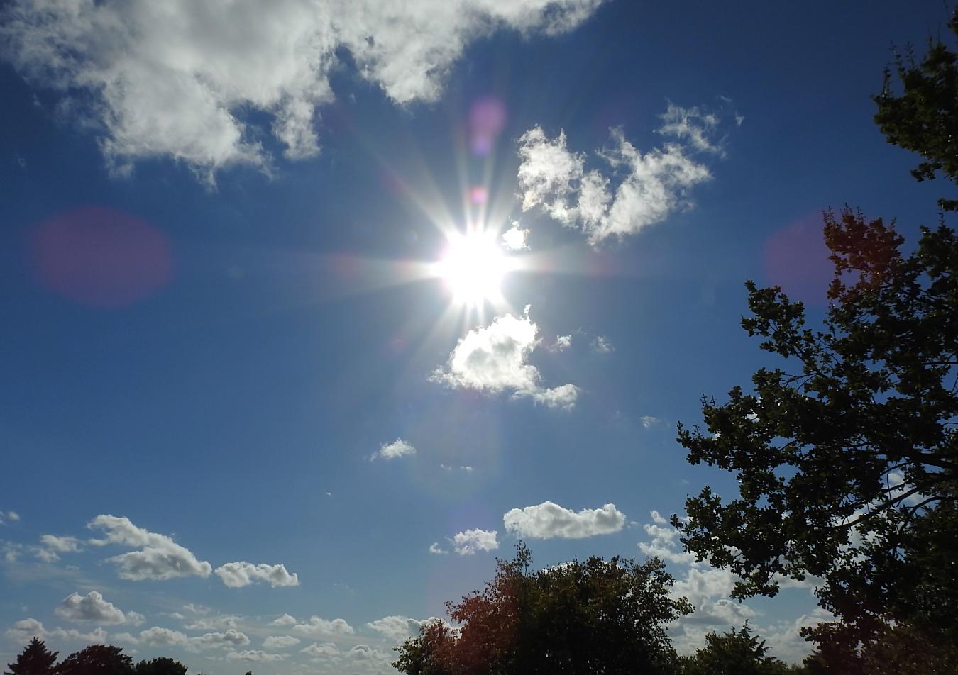 Die Sonnenstrahlen
