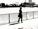 die Spaziergängerin