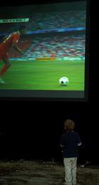 Die Spieler und der Zuschauer
