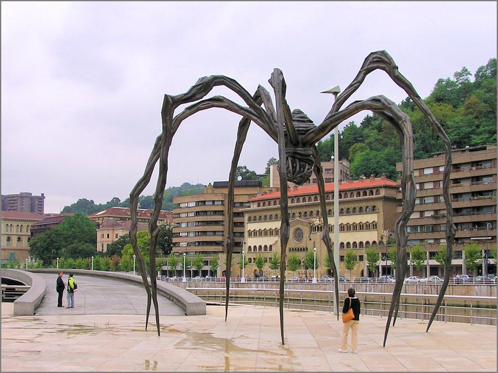 Die Spinne von Bilbao
