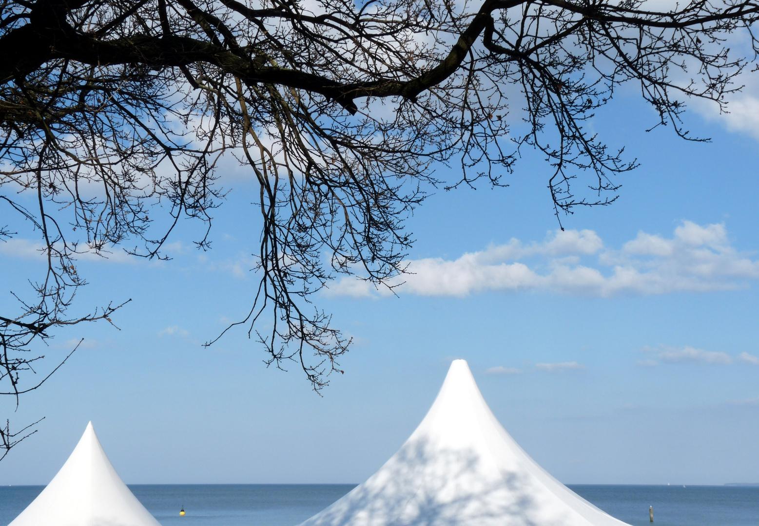 Die Spitzberge vom Timmendorfer Strand