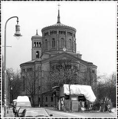 Die St.-Thomas-Kirche, Berlin Kreuzberg....