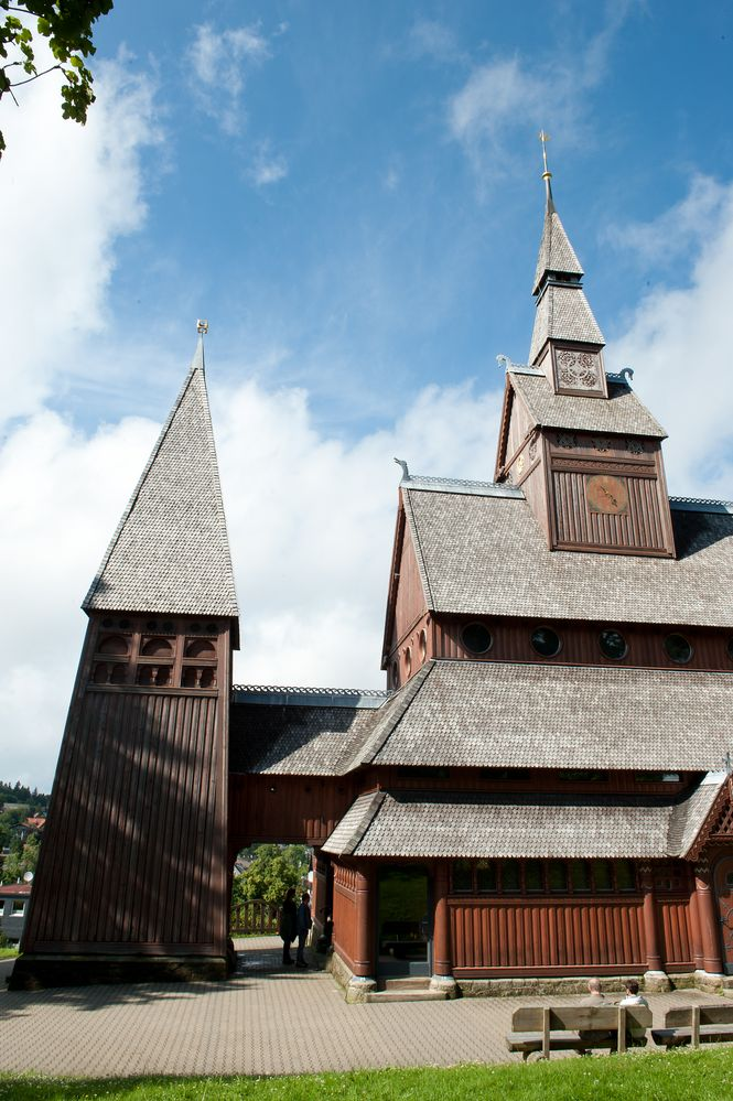 die Stabkirche in Hahnenklee, Bild V I.