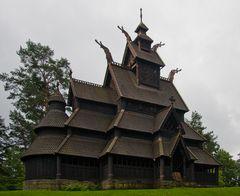 Die Stabkirche von Gol