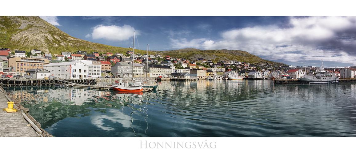 Die Stadt am Nordkap