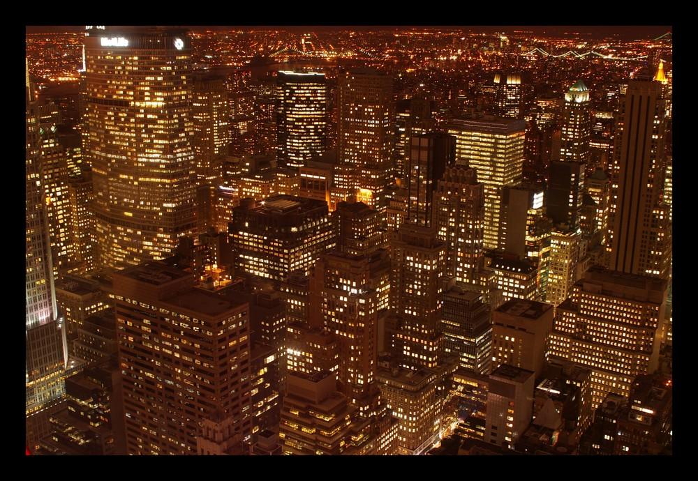 Die Stadt die niemals schläft