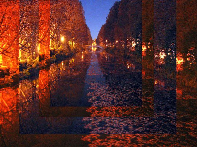 Die Stadt erwacht,bedeckt noch mit der Herbstnacht