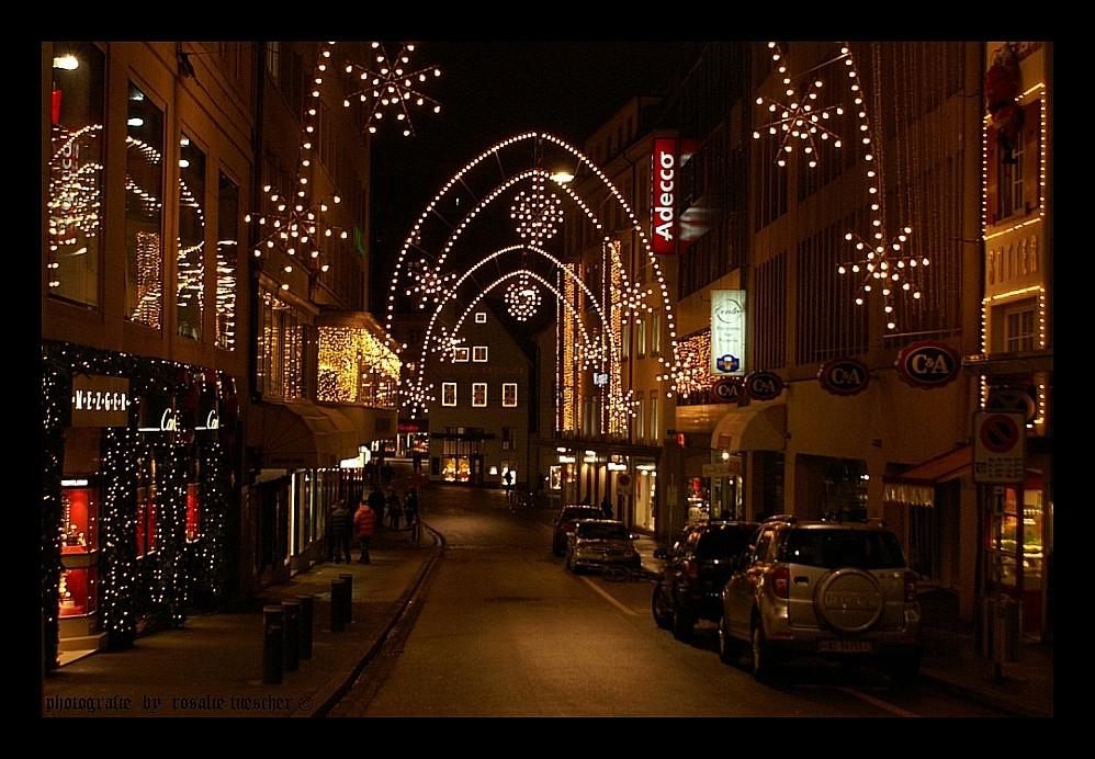 die stadt ist auf weihnachten foto bild europe. Black Bedroom Furniture Sets. Home Design Ideas