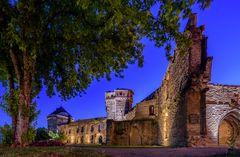 Die Stadtburg Andernach ...