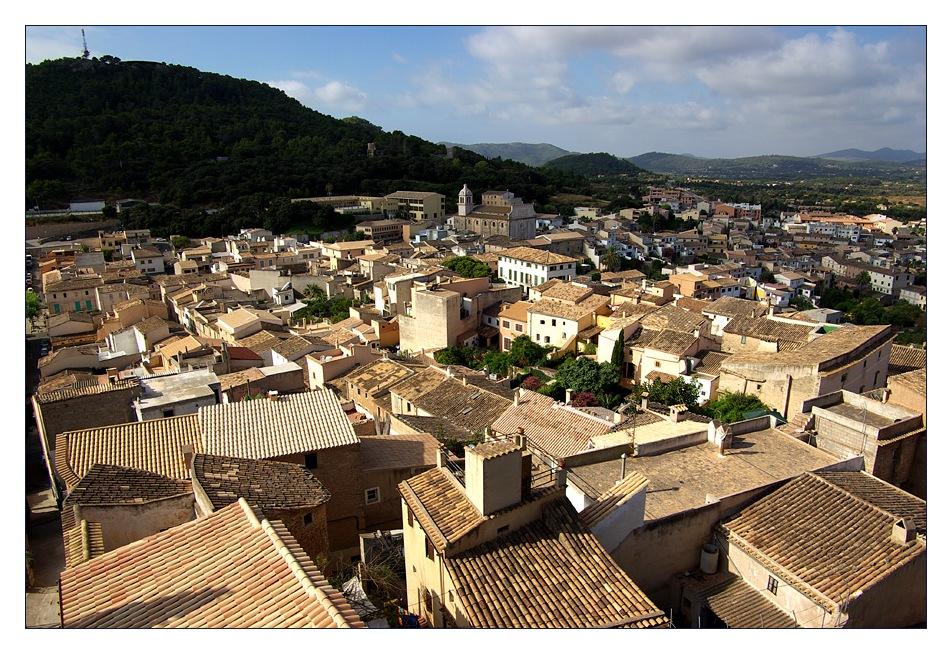 Die Stadt...(Castell de Capdepera III)