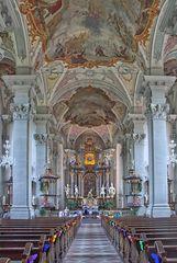 Die Stadtkirche in Amorbach