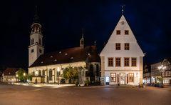Die Stadtkirche St. Marien und das Alte Rathaus von Celle